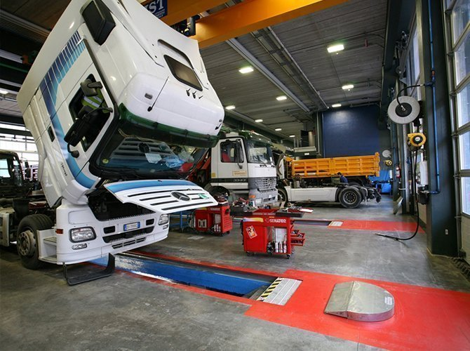Camion Officina Interservice