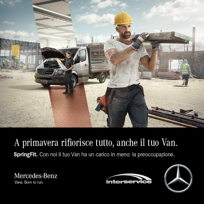 Interservice e Mercedes benz Promozione