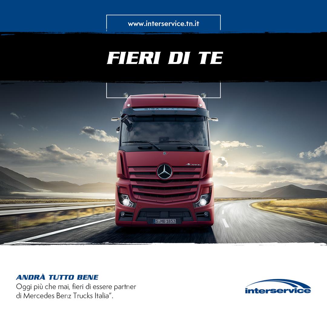 Camion Mercedes Benz Promozione