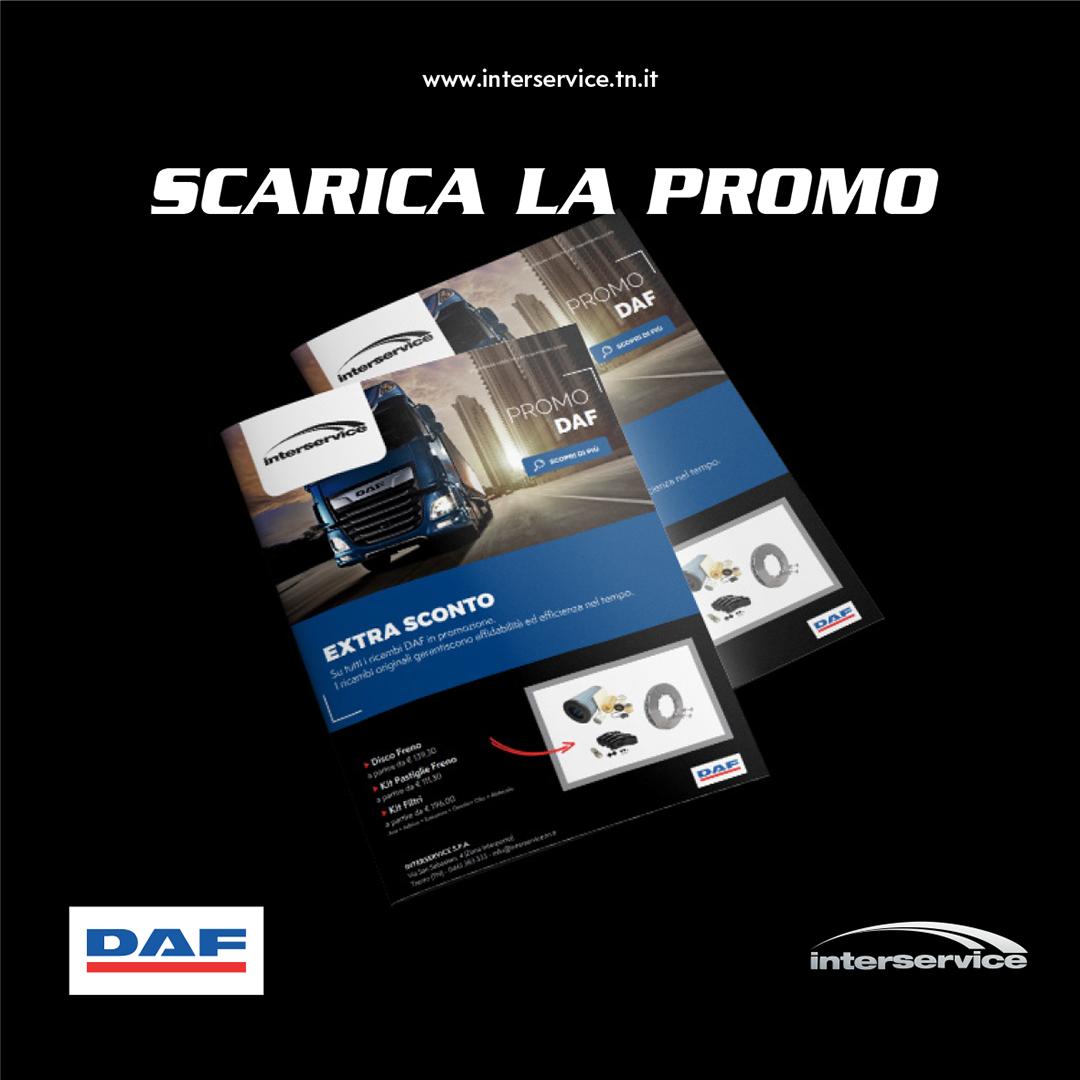 Scarica la promo banner - Promozione DAF camion