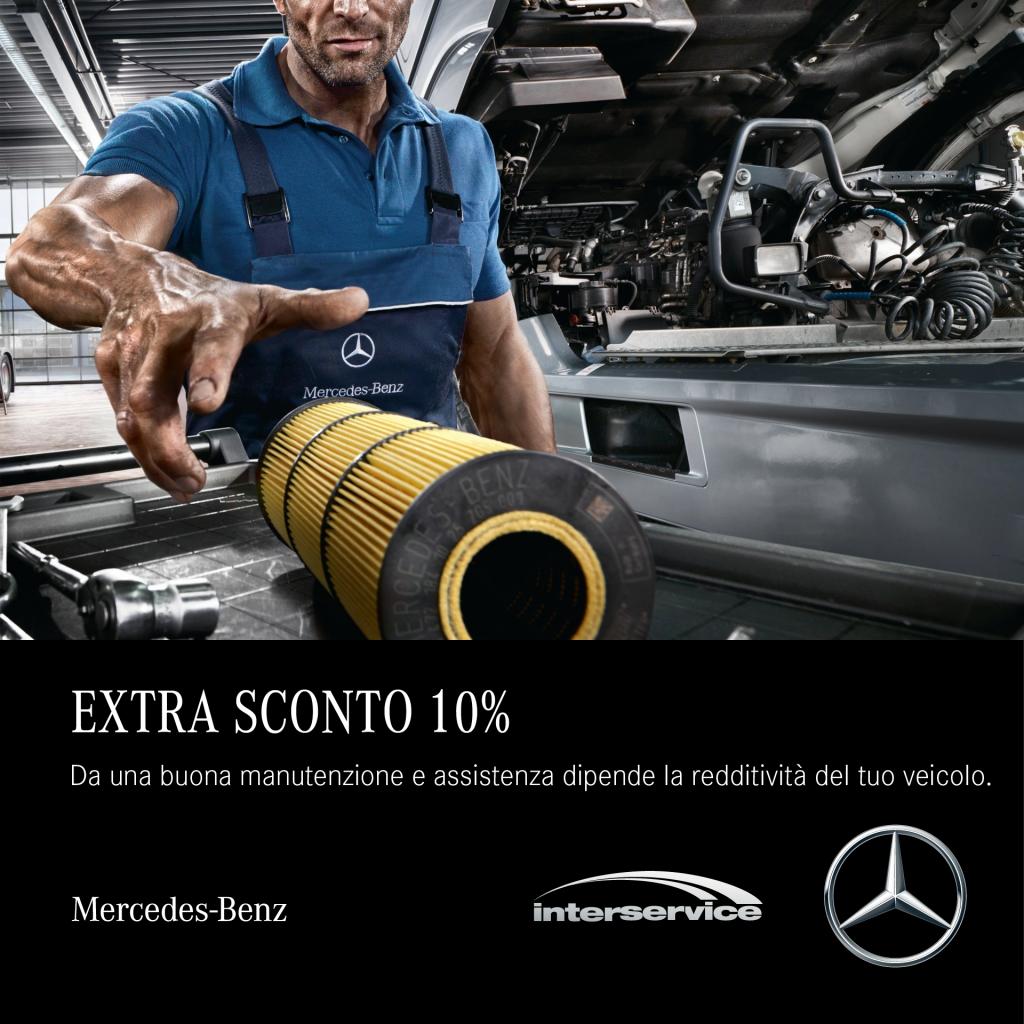 Mercedes Benz e Interservice Extra sconto